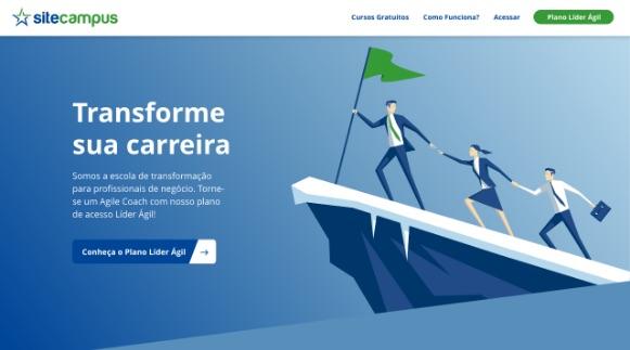Criamos o site da Site Campus - Porto Alegre